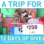 Ellen 12 Days of Giveaways Contest
