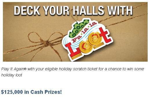 IALottery Fa La La Loot Promotion – Win $125,000 in Cash Prizes