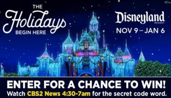FOX5 Holiday Disneyland Tickets Sweepstakes – Win Passes To