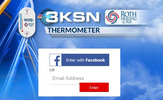KSN Roth Heating & Air Thermometer Giveaway