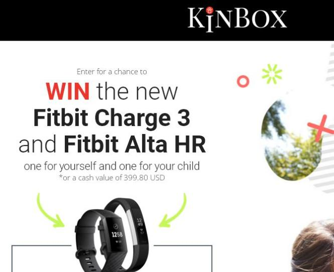 KinBox Fitbit Giveaway