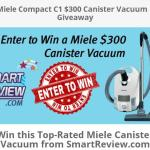 Miele Compact C1 $300 Canister Vacuum Giveaway