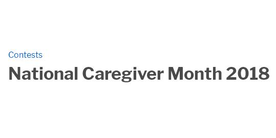 National Caregiver Month 2018 Sweepstakes