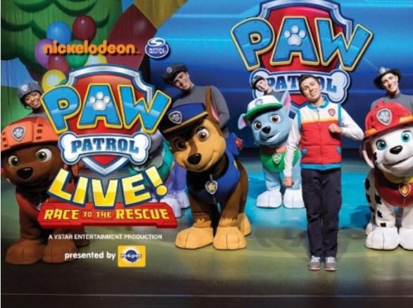 Nickelodeon PAW Patrol Live Ticket Giveaway
