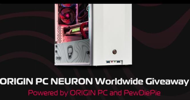 Pewdiepie's ORIGIN PC NEURON Giveaway