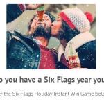 Six Flags Holiday Instant Win Game