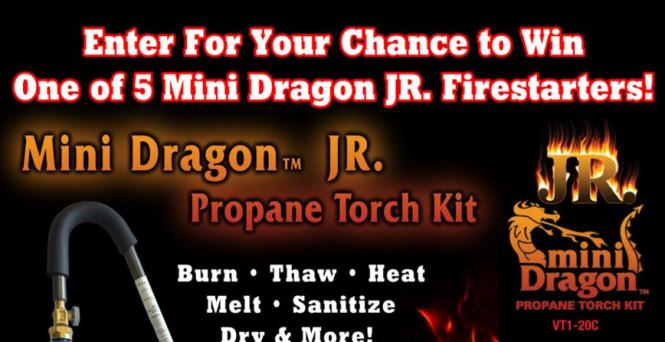 Tailgater Magazine Ultimate Dragon Fire Starter Giveaway