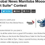 The Global News Manitoba Moose Sweet Suite Contest