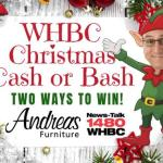 WHBC Christmas Cash Or Bash Giveaway