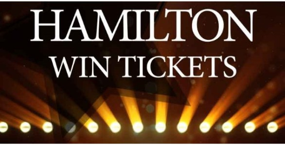 WRAL Morning News Hamilton Tickets Sweepstakes - Chance To Win Pair Of Tickets Of Hamilton Performance