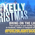 A Very Kelly Christmas Lights Contest - Win Visit to his or her home from Bob Kelly