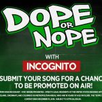 Ohio's Dope or Nope Contest - Win On-air Recognition With A Promo