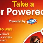 Clorox Super Powered Spin Instant Win Game