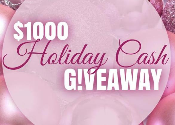 Our Fab Fash Life $1000 Holiday Cash Giveaway