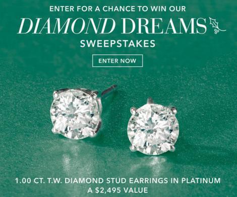 Ross-Simons Diamond Dreams Sweepstakes