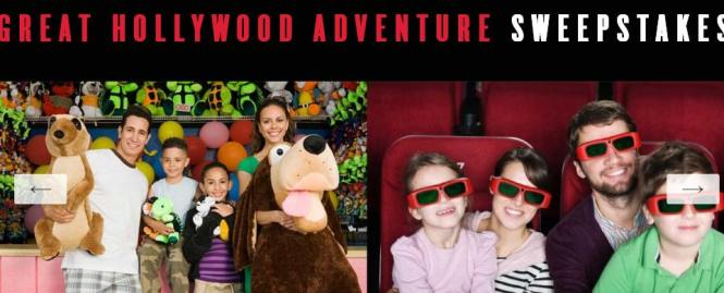 The Great Hollywood Adventure Sweepstakes