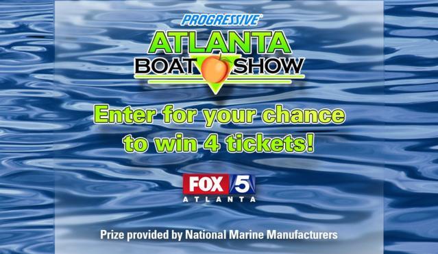 WAGA Atlanta Boat Show Giveaway – Win Tickets To The Atlanta
