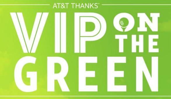 AT&T THANKS VIP On The Green Contest - Win A Trip To Monterey