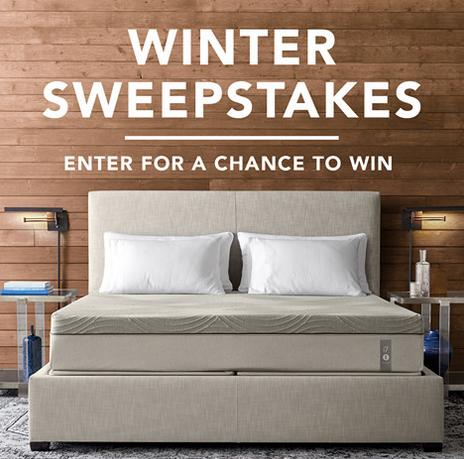 Sleep Number Winter 2019 Sweepstakes