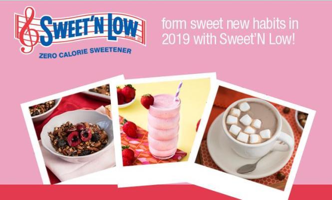 Sweet'N Low Sweet New Year 2019 Sweepstakes