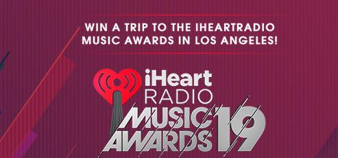 The iHeartRadio Music Awards in LA Sweepstakes