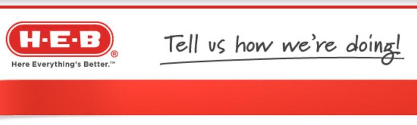HEB Customer Satisfaction Survey Sweepstakes – Win $100