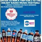 MIX 107.7 iHeart Radio Music Festival Sweepstakes