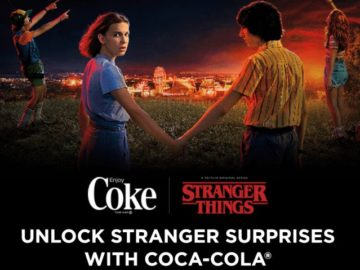 Coca cola Stranger Things Instant Win Game – Win A Trip For Two
