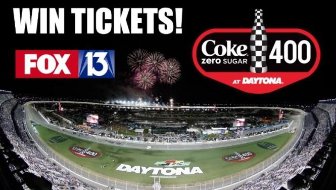 Fox 13 News Daytona Coke Zero 2019 Contest