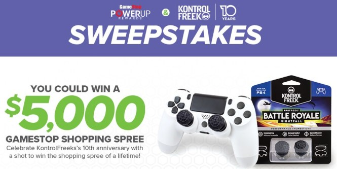 KontrolFreek 10th Anniversary Sweepstakes - Enter To Win