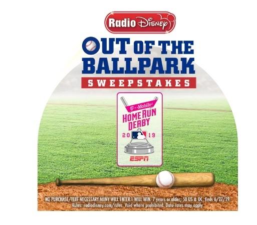 Radio Disney Out Of The Ballpark Sweepstakes – Enter To Win Trip