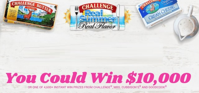Real Summer Real Flavor Sweepstakes - Win $10000 Check
