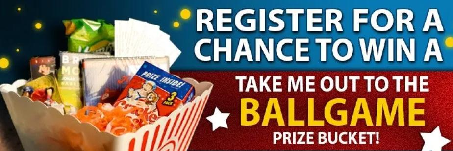 Take Me Out To The Ball Game Sweepstakes – Win Prize Bucket