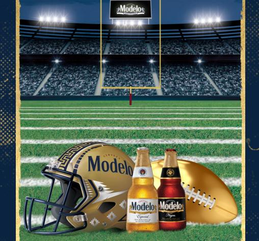 2019 Modelo Football Instant Win Game Sweepstakes - Win Hometown