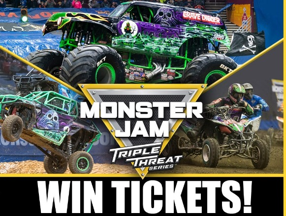 FOX 13 Monster Jam Triple Threat Contest - Enter To Win Four Tickets
