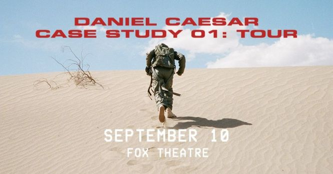 Hotspotatl Daniel Caesar Sweepstakes - Stand To Win A Pair Of Tickets
