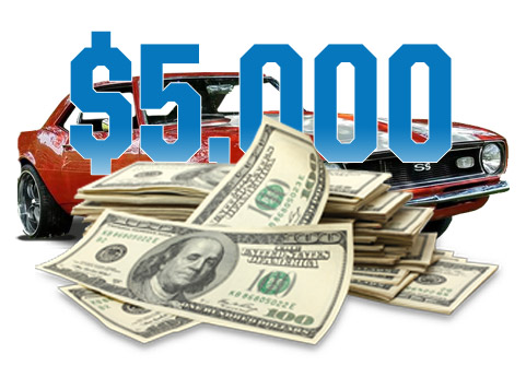 Peak Performer Auto Cash Sweepstakes - Enter To Win $5,000 Cash