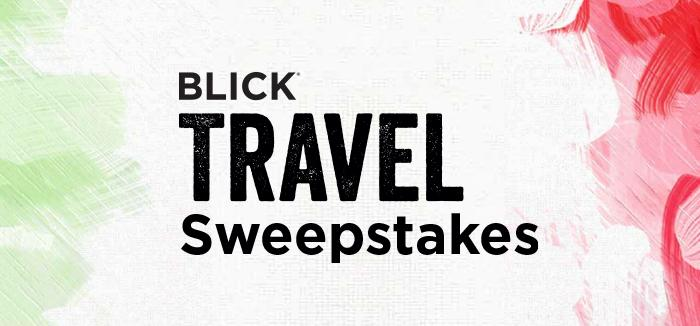 The Blick Travel Sweepstakes - Win Trip To Rome - ContestBig