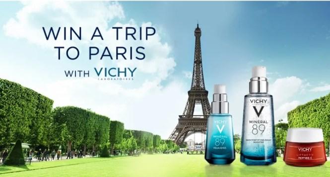 Vichy Paris 2019 Sweepstakes - Enter To Win A Magical Trip To Paris