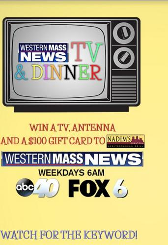 Western Mass News TV & Dinner Sweepstakes - Win Samsung HDTV