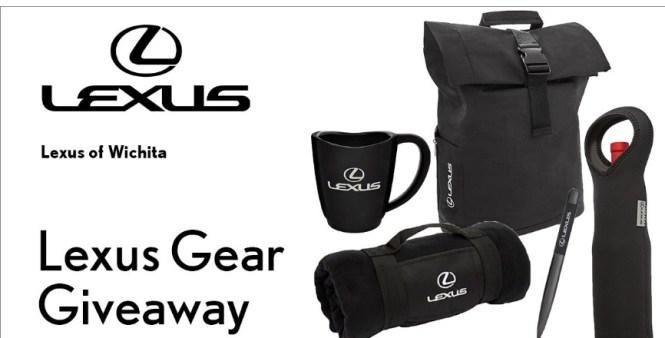 KSN Lexus Gear September Giveaway - Enter To Win Backpack And Gunmetal Twist Pens