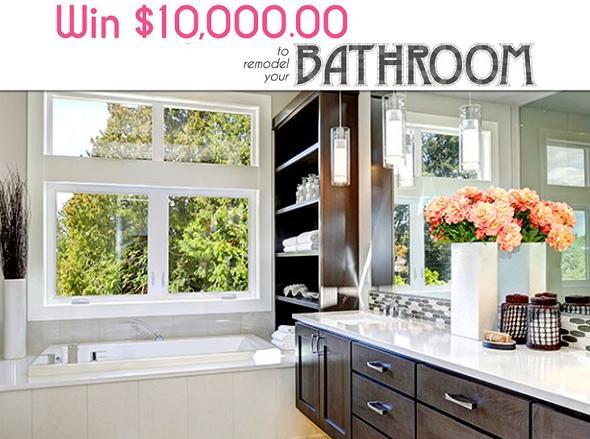 PCH com $10000 Bathroom Makeover Giveaway - Win $10000 Cash