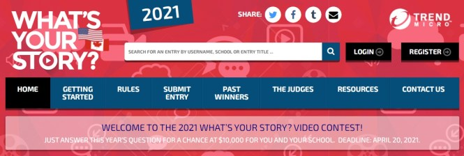 Trend Micro Incorporated What Your Story Contest