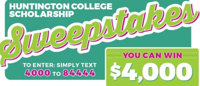 Huntington Learning Centers Huntingtonhelps.com College Scholarship Contest
