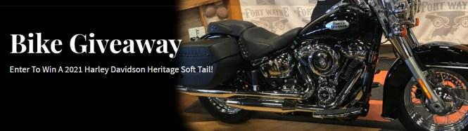 Blackburn And Green Harley Davidson Giveaway