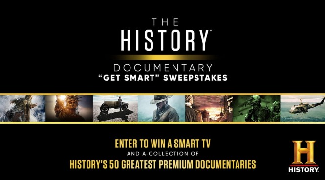 History Documentary Get Smart Sweepstakes