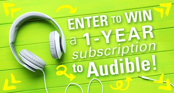 Book Riot Audible Subscription Sweepstakes