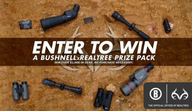 Bushnell X Realtree Official Optics Sweepstakes