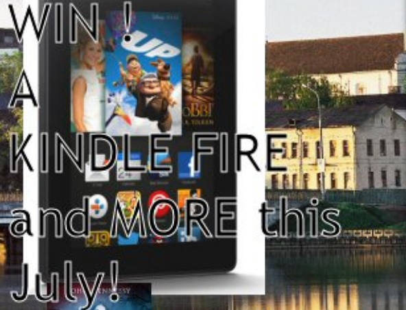 John Hennessy Kindle Fire HD Giveaway