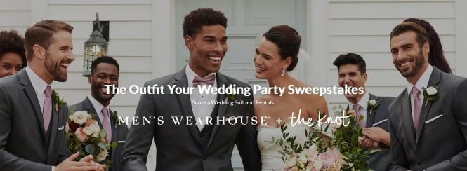 Men Wearhouse Wedding Sweepstakes